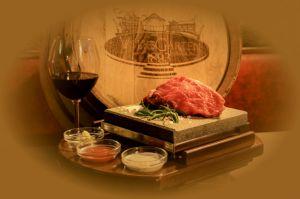 Steak vom heißen Stein