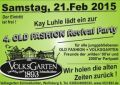 21.02.2015 - 4. OLD FASHION Revival Party im Volksgarten